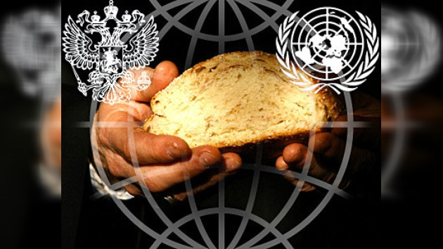 Rusia ayuda a la ONU a combatir el hambre