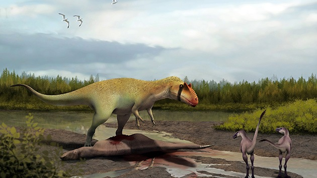 Cuando despertó, el Tiranosaurio rex no estaba allí: Hallan al 'abuelo' del gran saurio