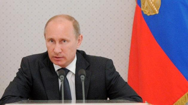 Putin: Rusia no planea entrar en una guerra armamentística