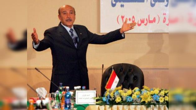 Egipto: Suleiman, candidato presidencial del 'viejo régimen', denuncia amenazas de muerte