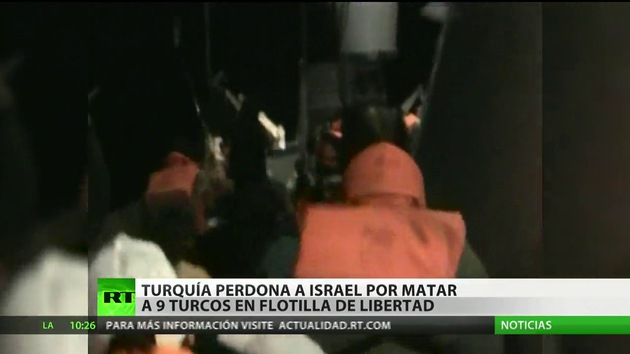 Netanyahu se disculpa ante Turquía por el caso de la Flotilla de la Libertad