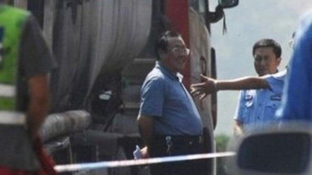Última sonrisa: Destituido un funcionario chino por reír ante un accidente mortal