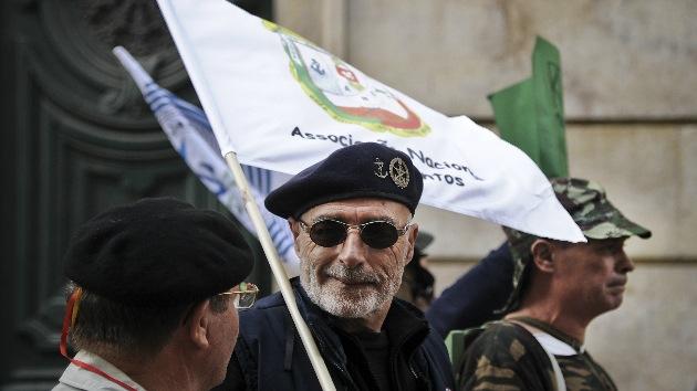 Fotos: Militares portugueses le 'declaran la guerra' a las medidas de austeridad