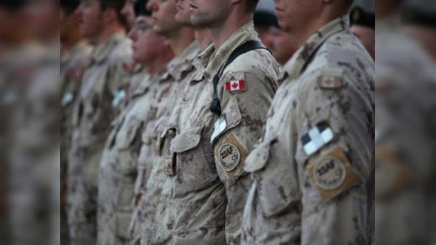 Los militares canadienses inician su retirada de Afganistán