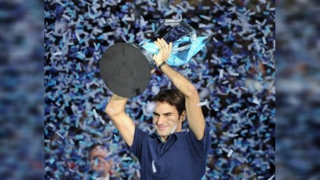 Federer cierra el año conquistando su sexta Copa de Maestros