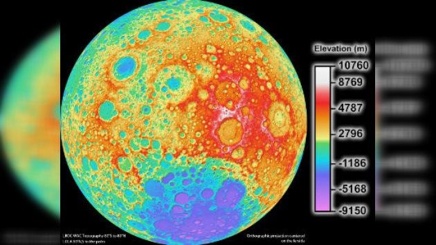 El mapa de la Luna, detallado como nunca antes