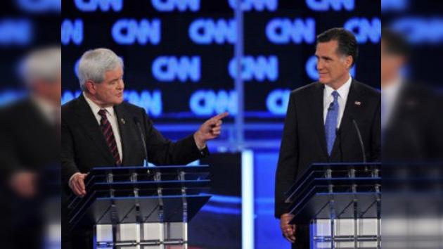 Primarias republicanas en EE. UU.: Romney y Gingrich se buscan las vueltas en Florida