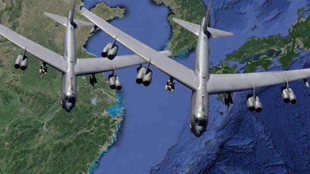 China monitoreó los bombarderos de EE.UU. en su zona de defensa aérea