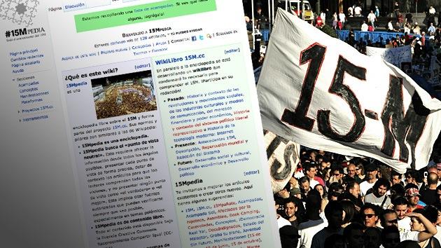 Los indignados del 15M lanzan su 'wikipedia'