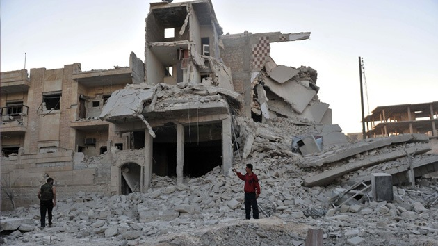"""Benedicto XVI: Siria se está convirtiendo en un """"campo de ruinas"""""""