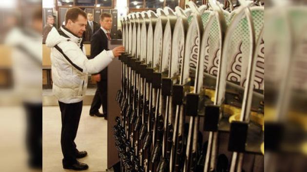 Medvédev retoca preparativos para las Olimpiadas de Invierno 2014