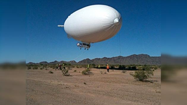 Un globo aerostático dirigirá la recolección de crudo en el Golfo de México