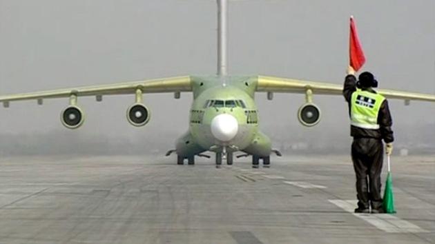 El primer avión chino de transporte militar, listo para entrar en servicio