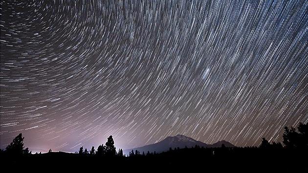 Video y fotos: 'Danza' de estrellas en el cielo nocturno