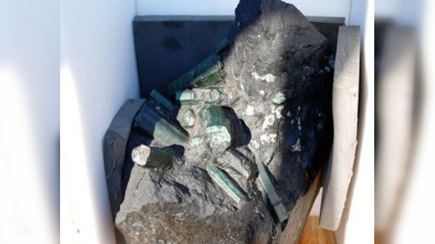 La justicia decidirá quién es el dueño de una esmeralda de 380 kilogramos