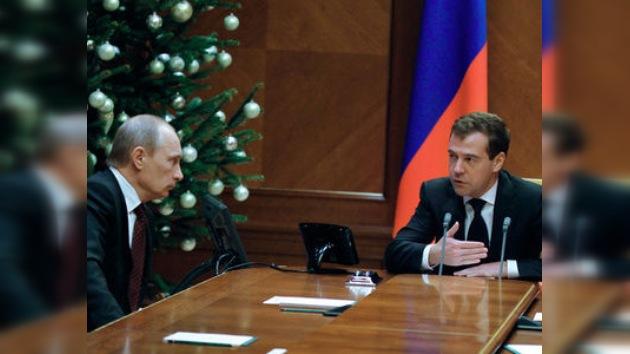 Dmitri Medvédev esbozó prioridades para el Gobierno en 2011