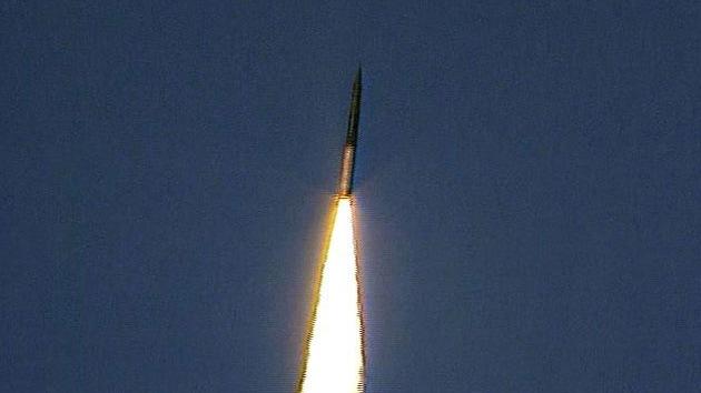 FOTOS: Rusia prueba con éxito un misil intercontinental de quinta generación