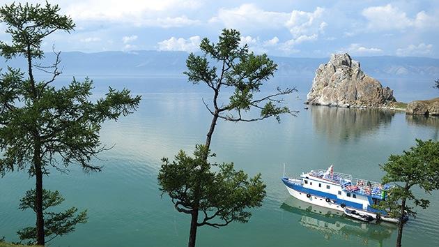 Lago Baikal, el impresionante 'ojo azul de Siberia'