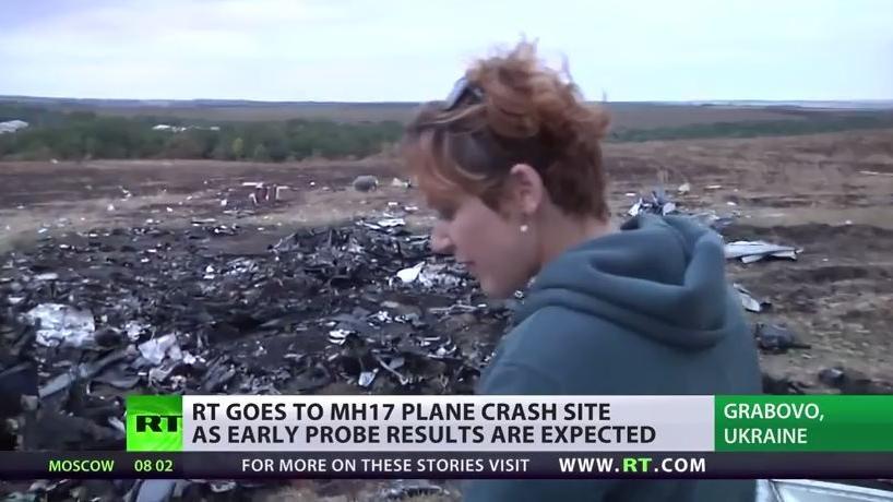 Der Weg zurück - Unsere Reporterin an der Absturzstelle von MH17