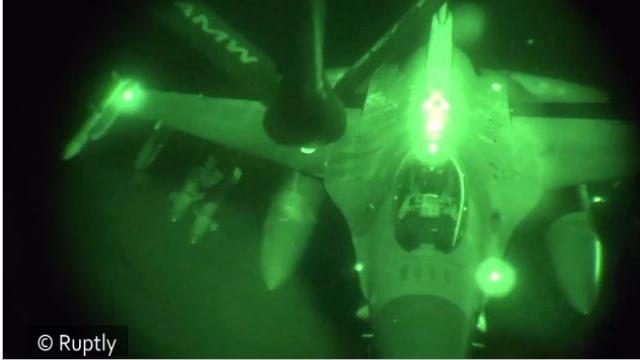 """China verweist auf """"geheime Gründe"""" der USA für Bombardierungen gegen Stelllungen der IS"""