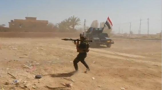 Kampf gegen IS im Irak.