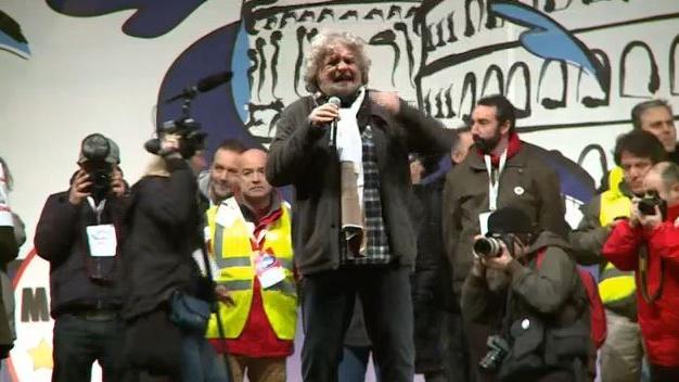 Quelle: Ruptly - Archivbild Wahlkampf Februar 2013 in Rom