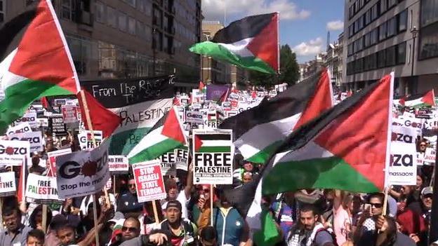 Mehrheit im britischen Parlament für Anerkennung Palästinas