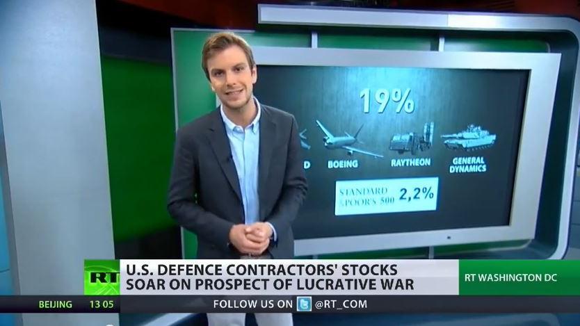 Krieg gegen IS ist ein gutes Geschäft