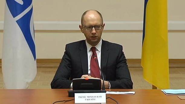 Über Kiew kreist der Pleitegeier