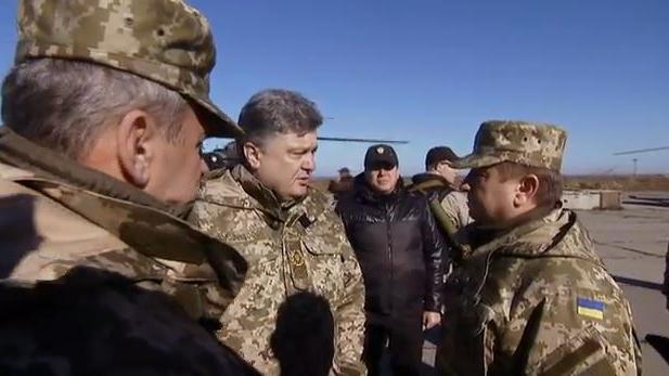 """Ukrainischer Präsident: """"Militarisierung der Gesellschaft ist unvermeidlich"""""""