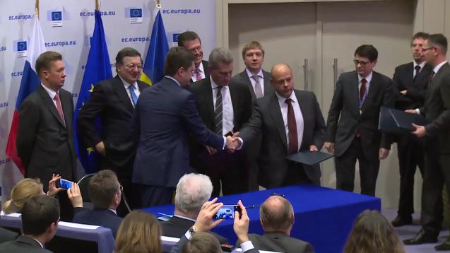 Einigung im Gasstreit mit der Ukraine