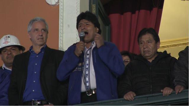 Bolivien bleibt links – Evo Morales Präsident bis 2020