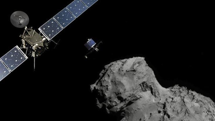 Rosetta-Mission ist auf Komet 67P gelandet