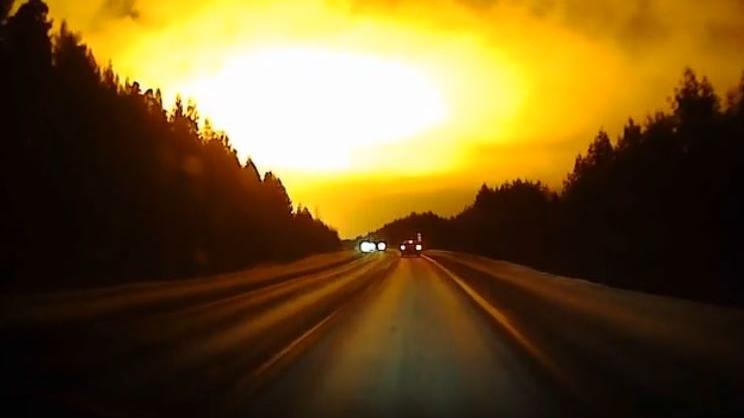 Gigantische Lichter über dem Ural erstaunen Wissenschaftler