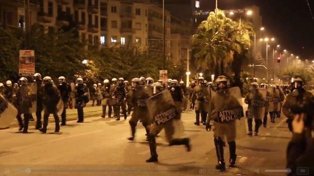 Schwere Ausschreitungen vor US-Botschaft in Athen