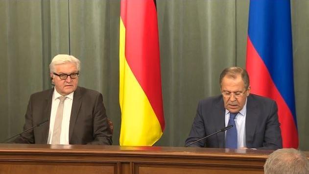 Dialogbereit? Außenminister Steinmeier in Moskau