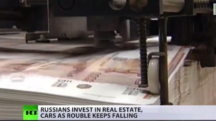 Der Rubel geht durch schwere Zeiten - Wie reagiert die Bevölkerung? [Video]