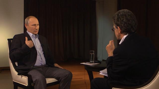 """Putin-Interview und Poroschenkos """"totaler Krieg"""""""