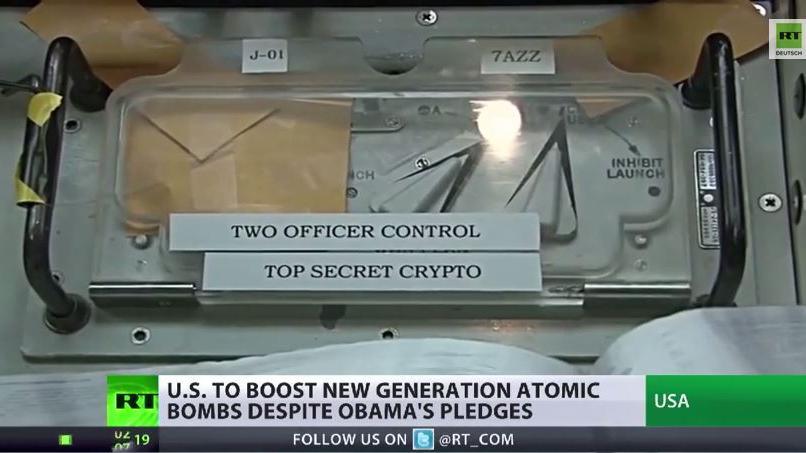 Friedensnobelpreisträger will neue Nuklear-Gefechtsköpfe bauen lassen