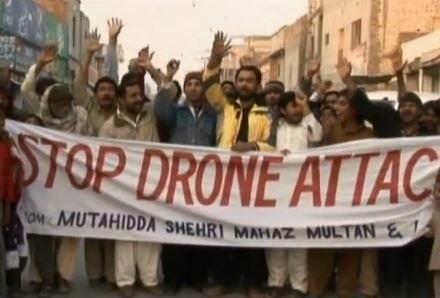 Proteste gegen Drohnen in Pakistan / Quelle: Ruptly