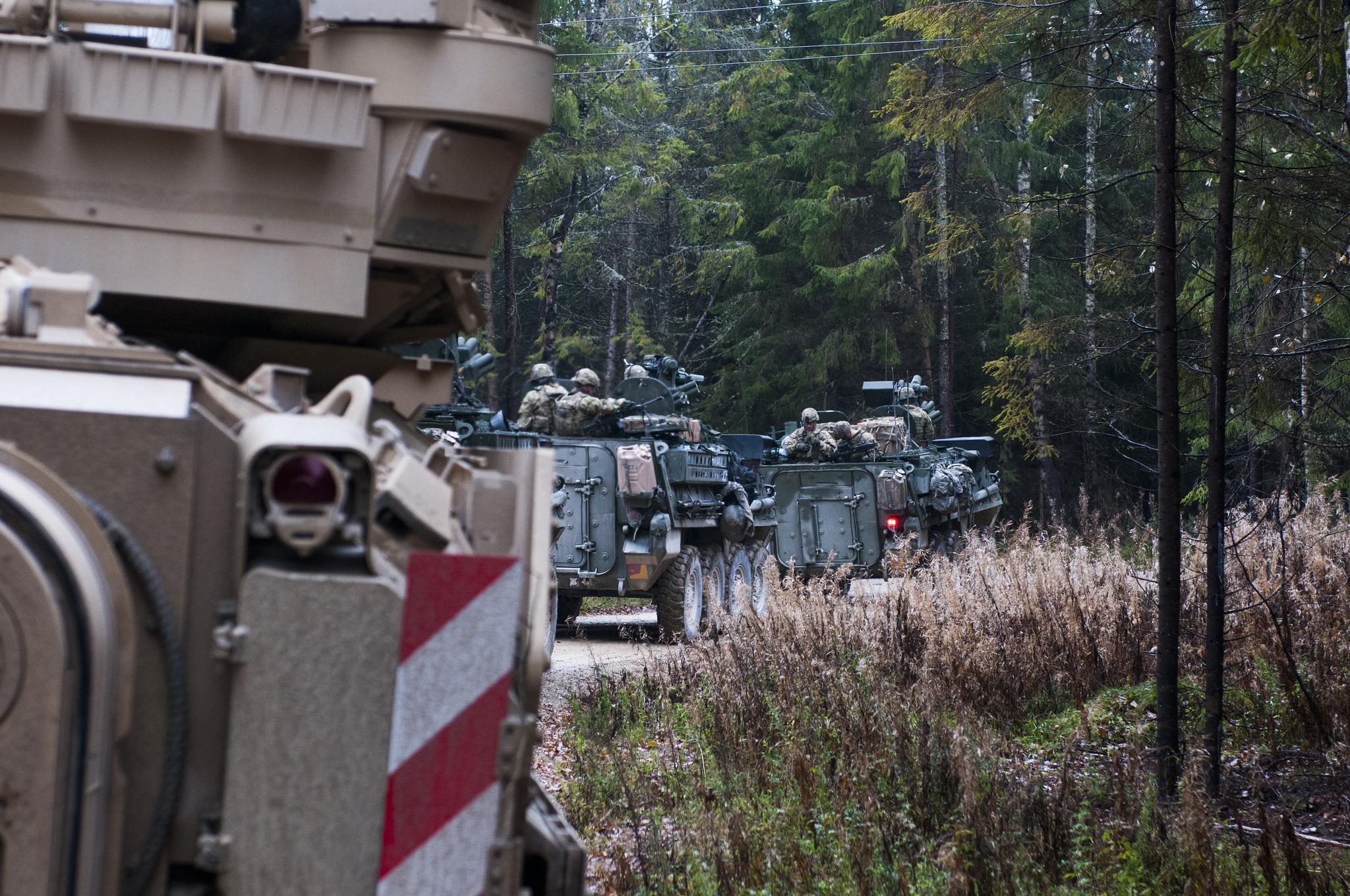 USA erhöhen massiv die Zahl ihrer Kampfpanzer in Deutschland