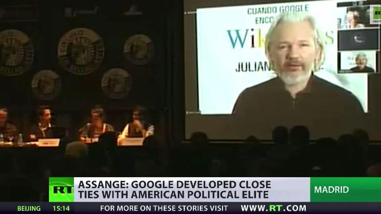 Neues Buch von Julian Assange: Als Google Wikileaks traf