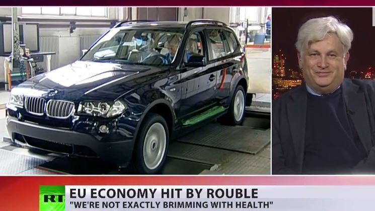 Rubel-Schwäche schlägt massiv auf die westliche Wirtschaft zurück