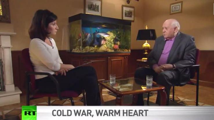 """Exklusiv-Interview mit Gorbatschow: """"Die USA sind Sklaven ihrer eigenen Politik"""""""