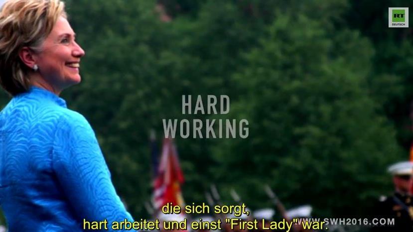 Geschmacksverwirrung 4.0. – Werbevideo für Hillary Clintons Präsidentschaftskandidatur 2016