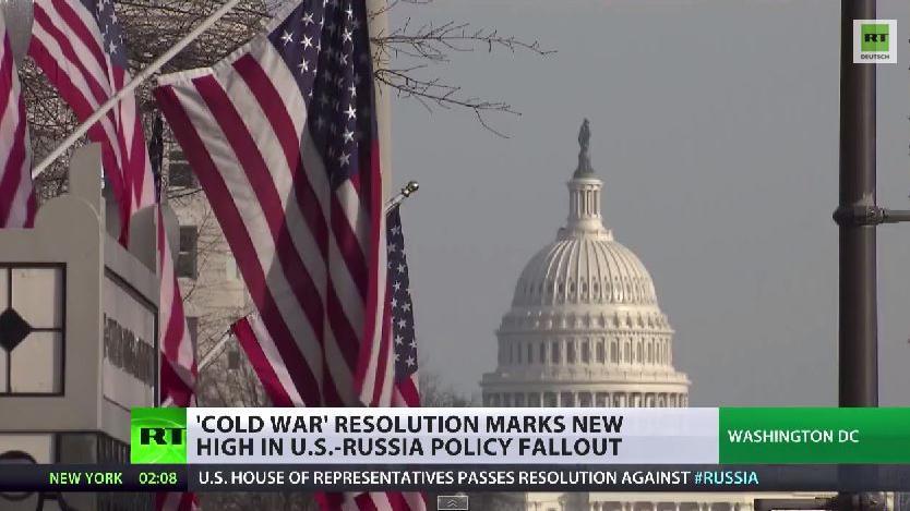 US-Kongressresolution gegen Russland – Vorbereitung auf den Heißen Krieg