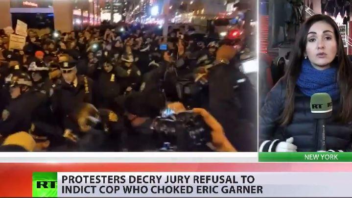 Proteste in New York - Erneut Polizist nach Tötung eines Afro-Amerikaners freigesprochen