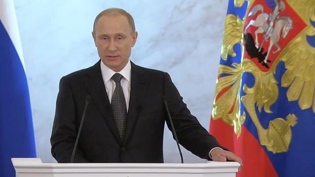 Putins Rede zur Lage der Nation: Ukraine, Rolle des Westens und wirtschaftliche Situation