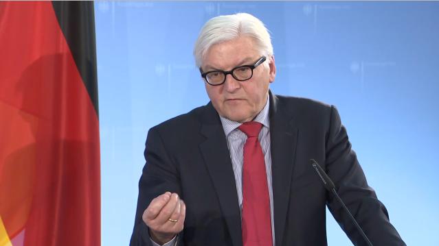 """Steinmeier fordert """"Rotes Telefon"""" zwischen Russland und NATO"""