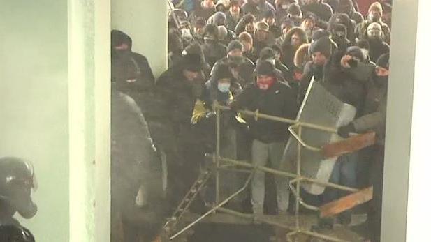 In der West- und Zentralukraine tobt der rechte Mob